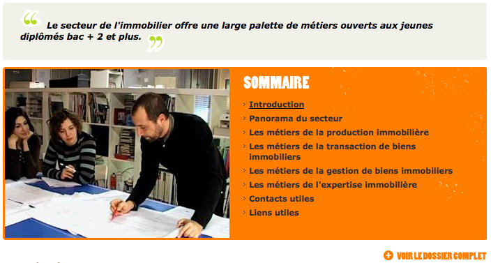 lesmetiers
